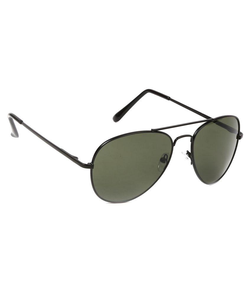 Ferry Rozer Bottle Green Aviator Sunglasses ( FRA207 )