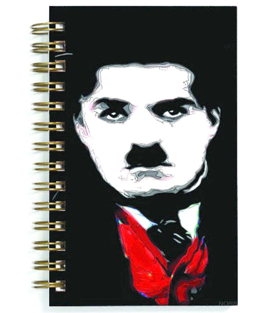 Advance Hotline Charlie Chaplin Spiral Diary