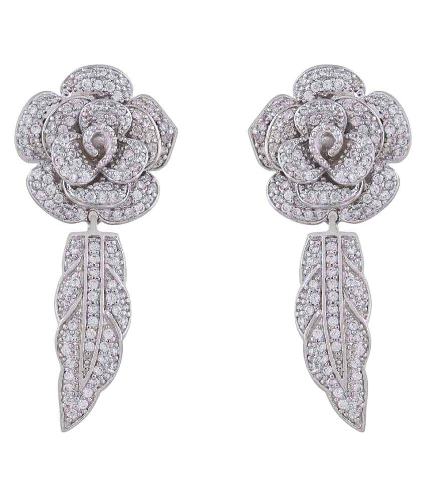 Shaze Silver Earrings