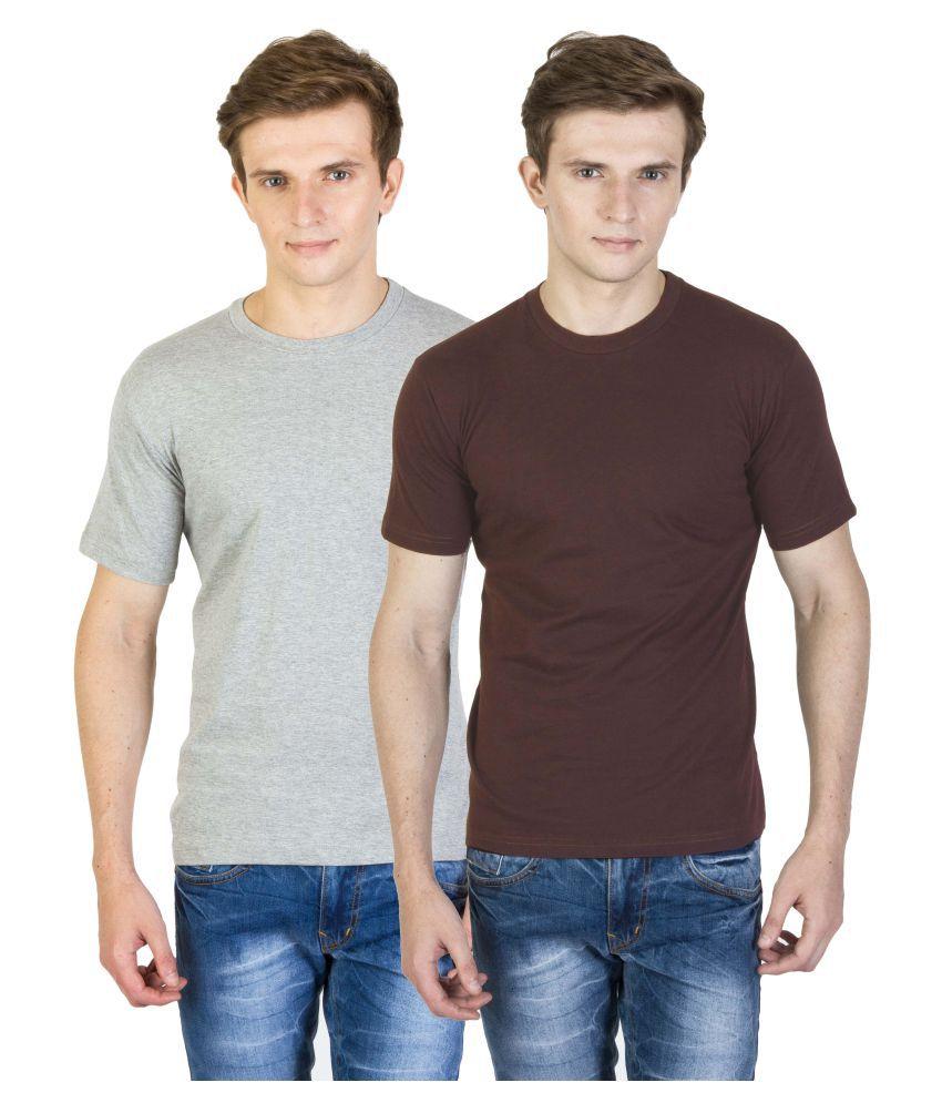 Calaso Multi Round T-Shirt Pack of 2