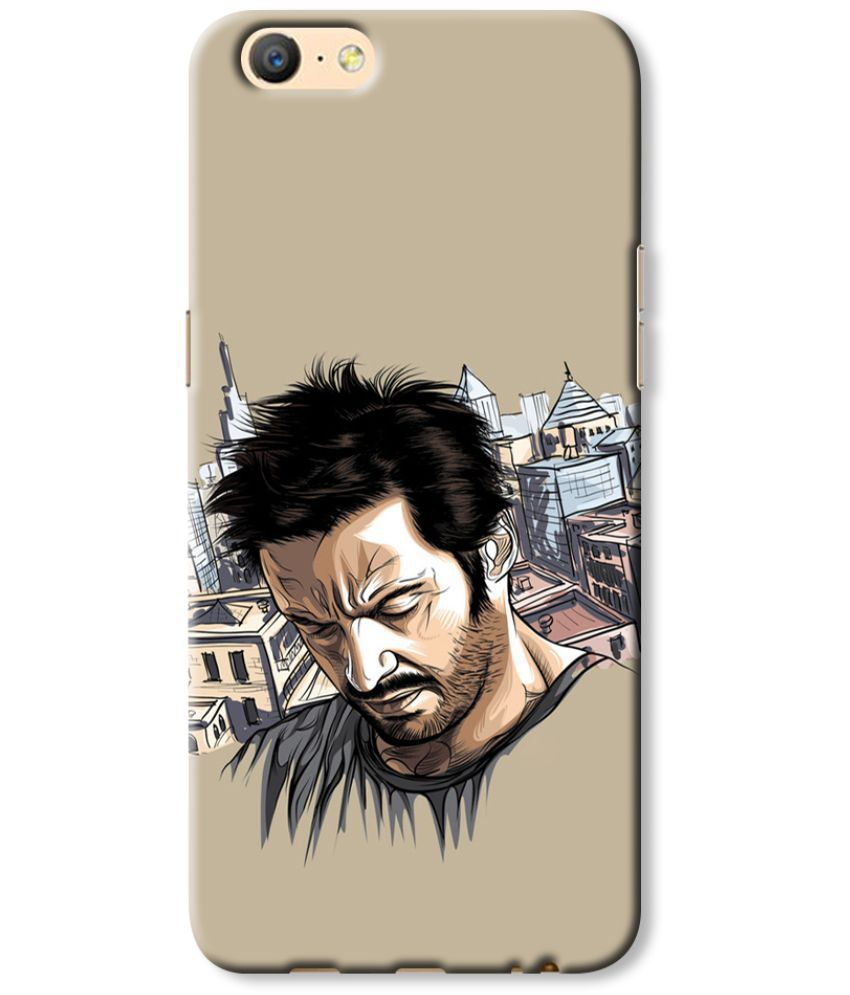 Oppo A57 Printed Cover By Cell First