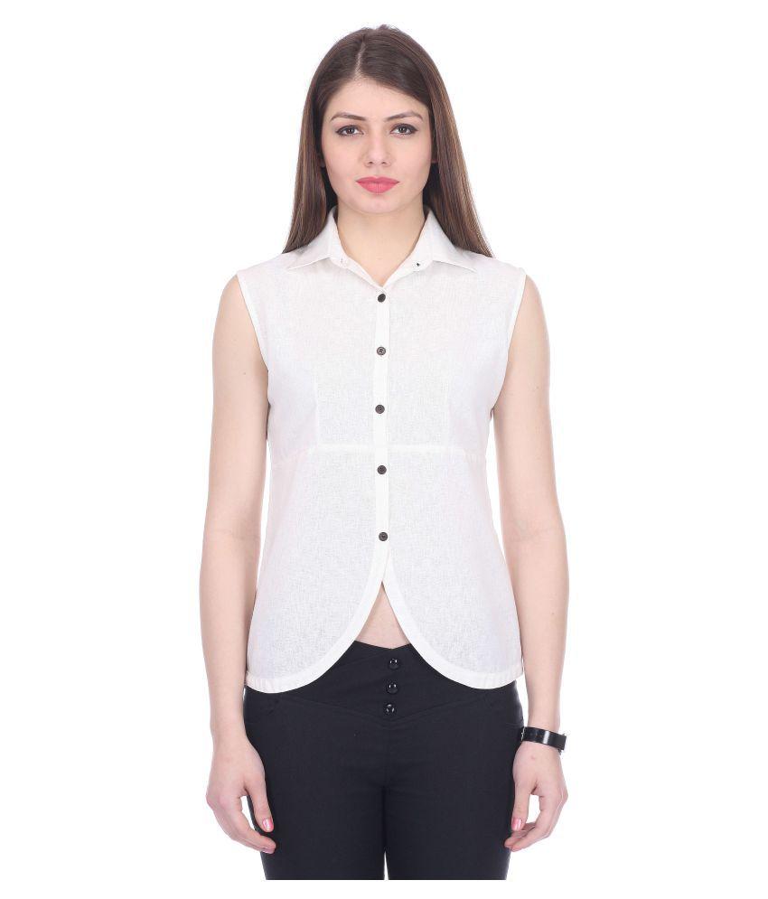 Yalina Plus Cotton Shirt