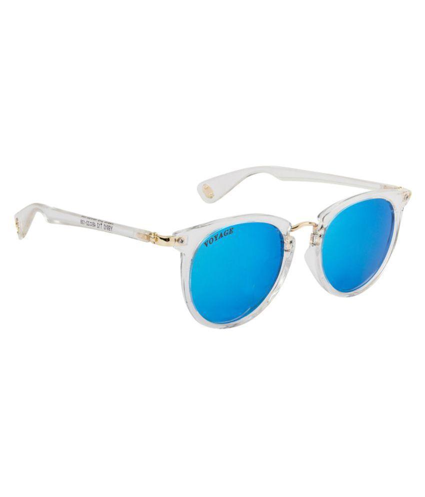 Voyage Blue Cat Eye Sunglasses ( Y9910MG1901 )