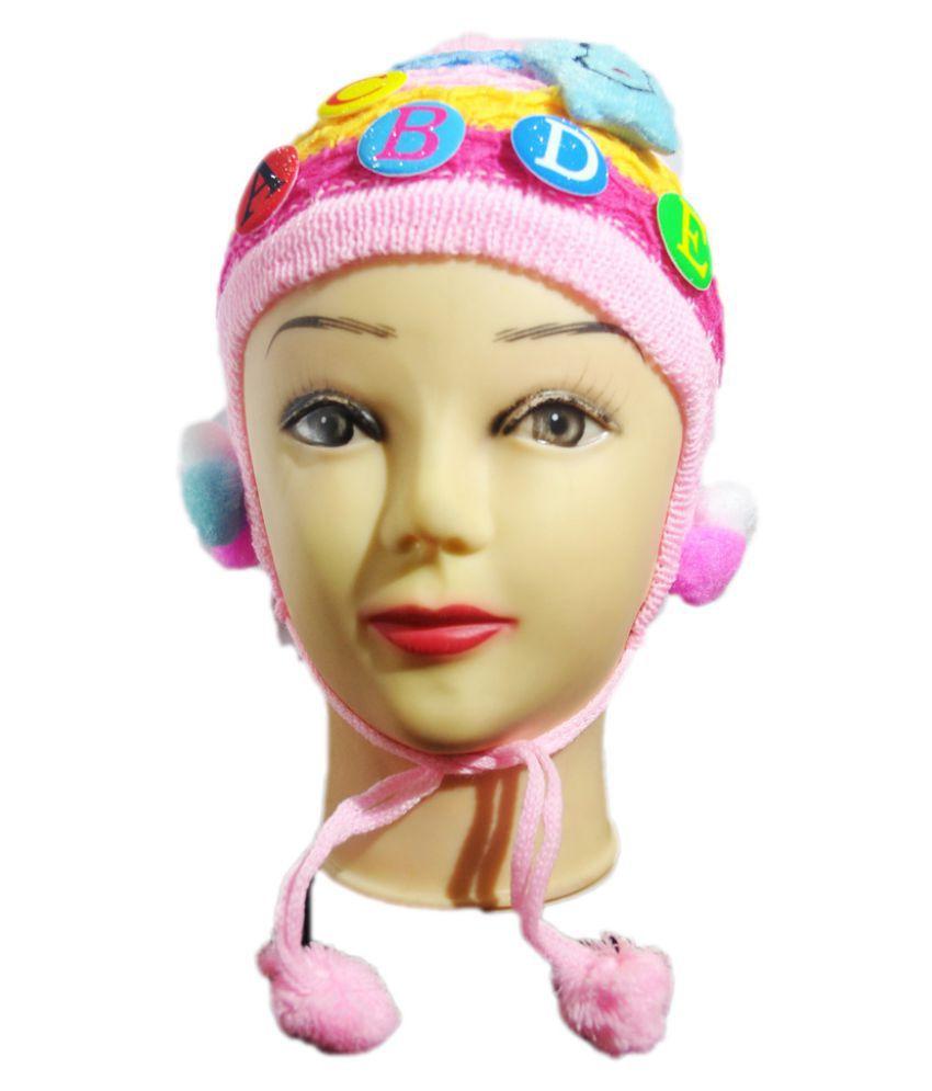 K-Only Multicolour Woollen Winter Cap