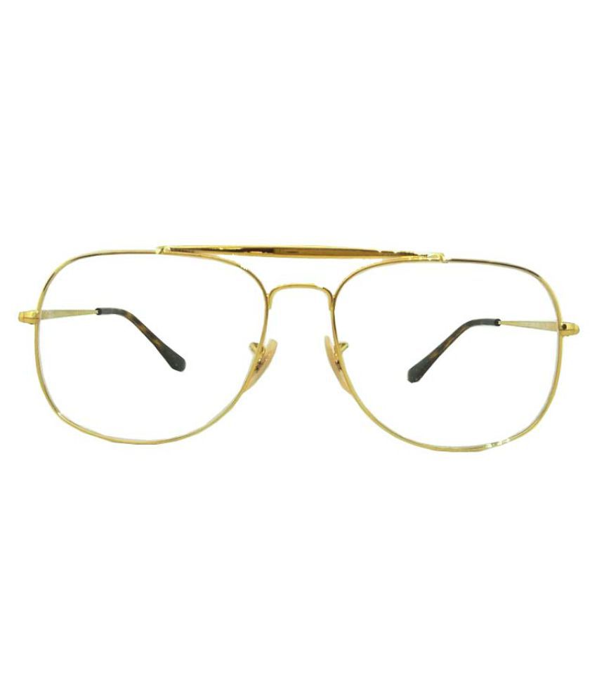 b6cf6325468 Ray-Ban Golden Square Spectacle Frame RX-6389-2500-57 - Buy Ray-Ban ...