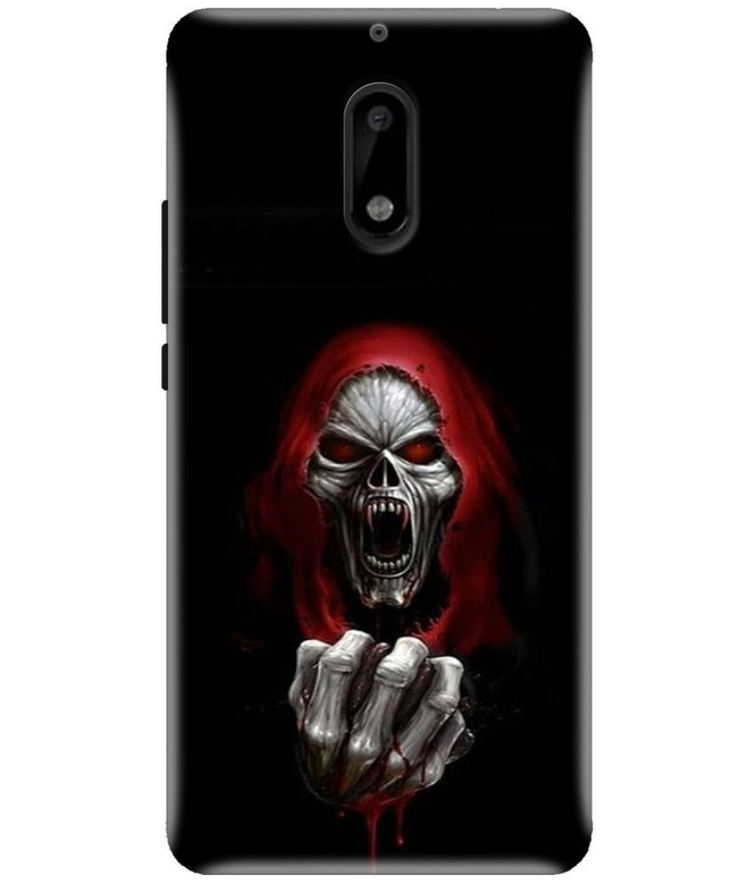 Nokia 6 Printed Cover By Knotyy