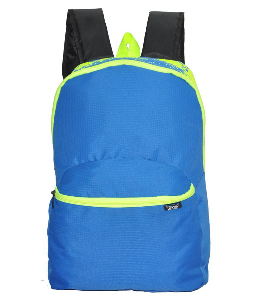 avon bags skypak royal blue 15 ltr school backpack with pouch buy rh snapdeal com