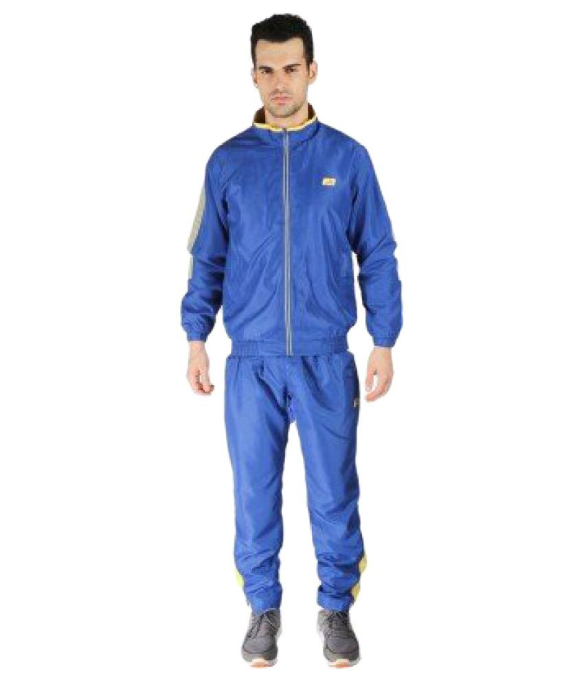 Vector X VTS-5100-B Royal Blue Polyester Track Suit
