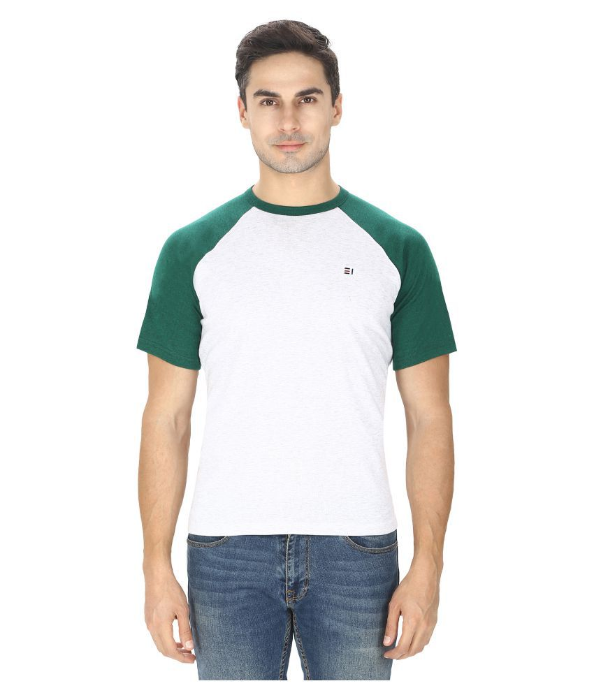 Ebony & Ivory White Round T-Shirt