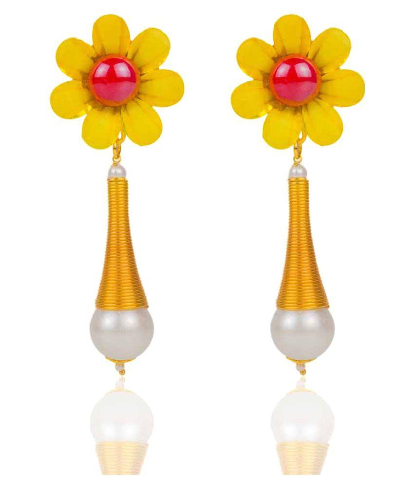 Makezak Yellow Brass Hangings