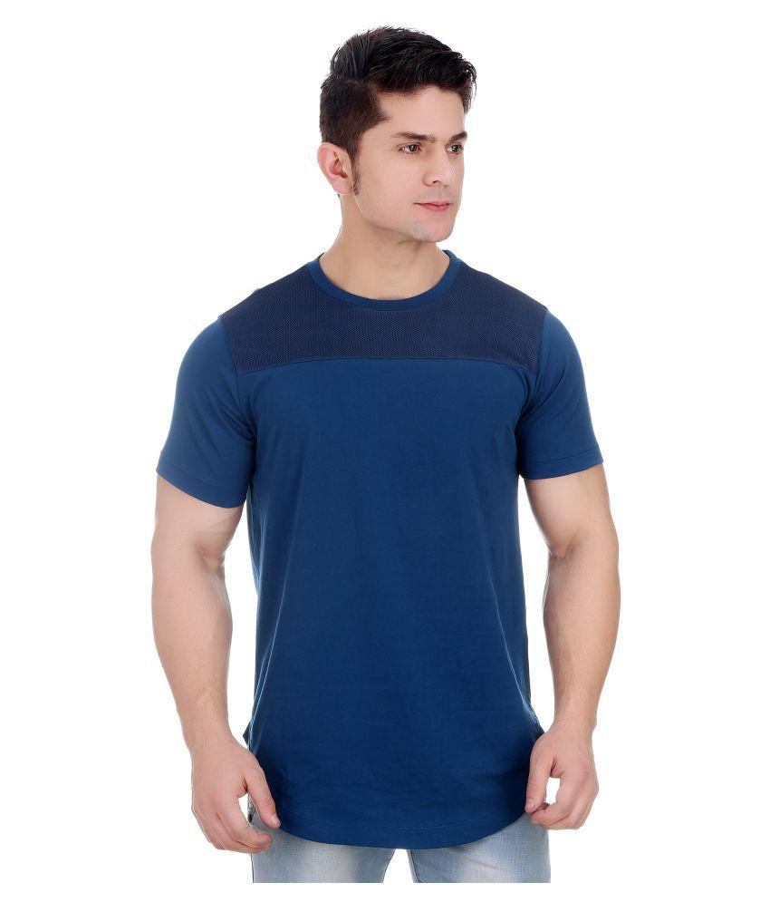 Girggit Blue Round T-Shirt