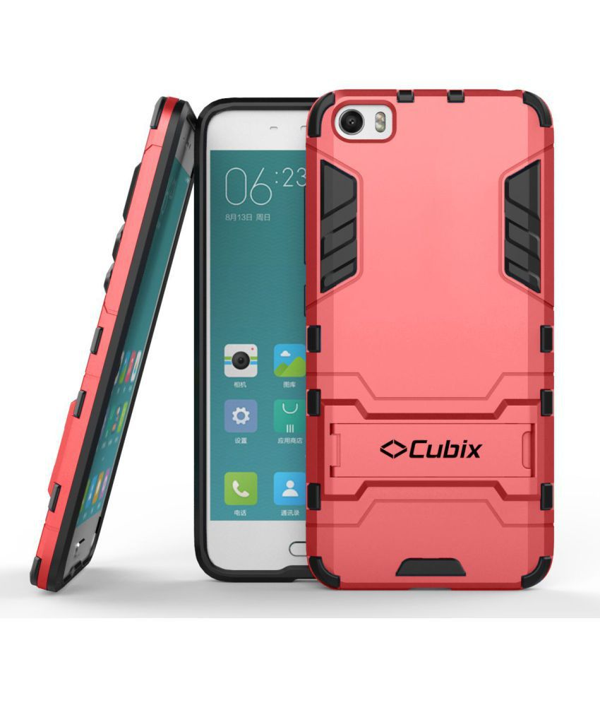 Xiaomi Mi5 Cases with Stands CUBIX - Red