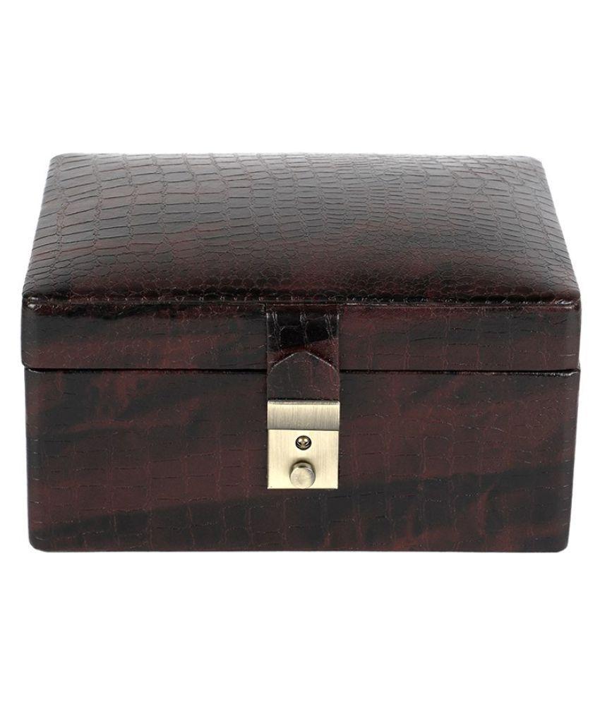 Felicita Sleek Desinger Jwellery Box & With Imported Leather