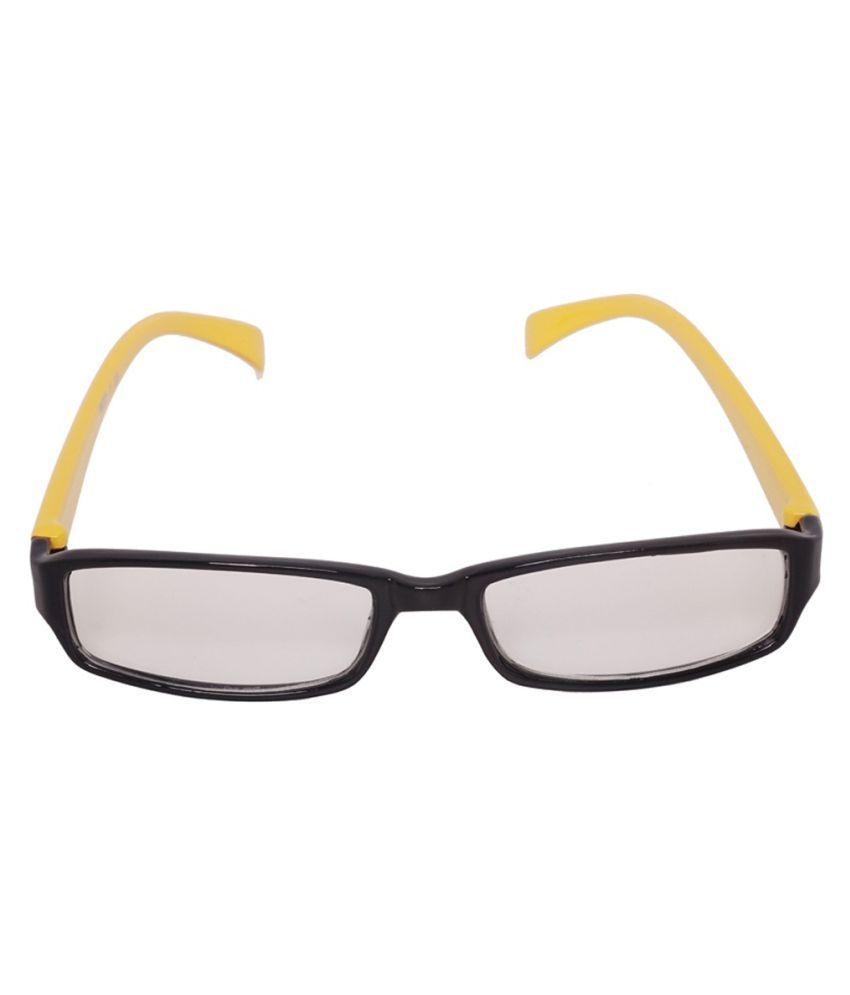 Ansh Fashion Wear Clear Rectangle Sunglasses ( 1 )