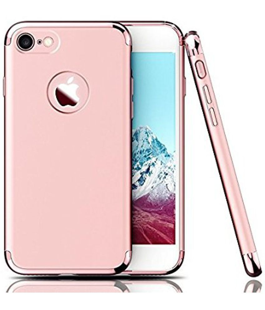Apple iPhone 7 Plain Cases Accworld - Rose Gold