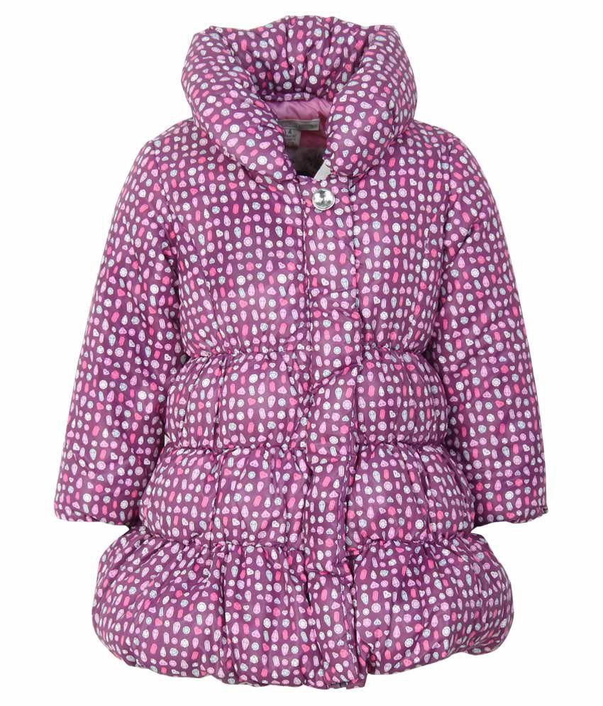 Pumpkin Patch Girls-Jackets Purple