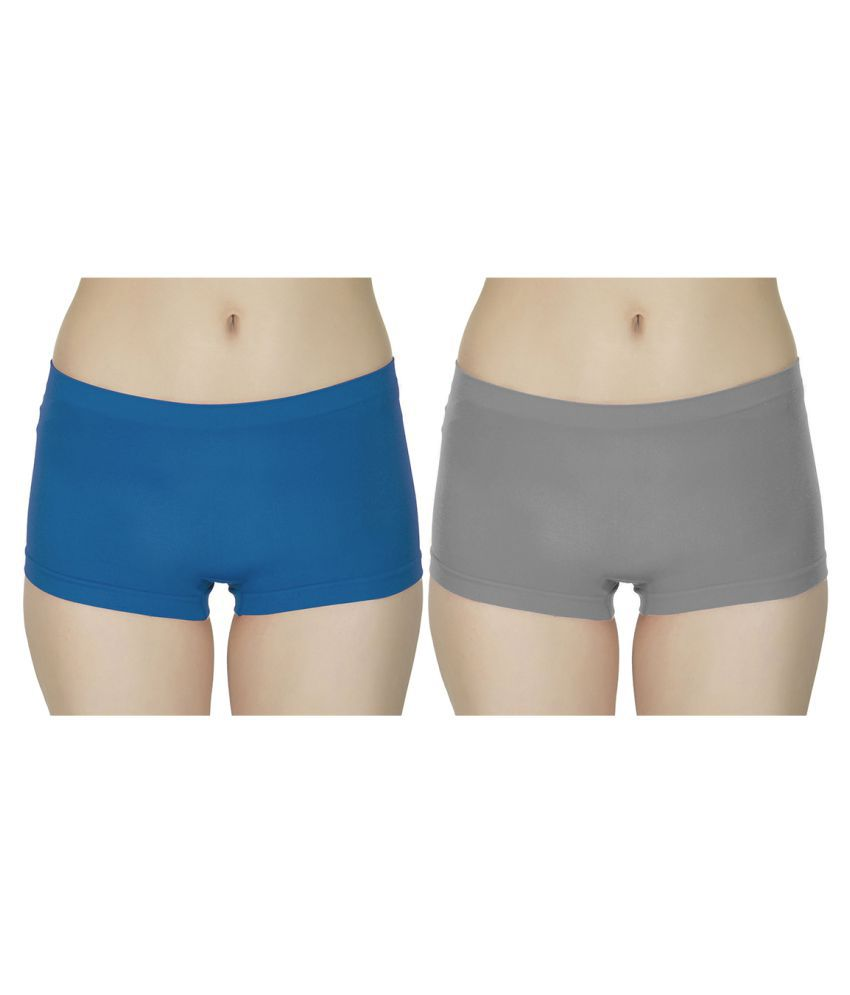 Balmy Poly Cotton Boy Shorts