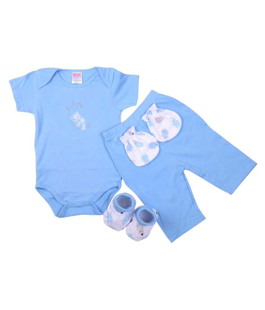 Morisons Baby Dreams Baby Gift Box Set of 4 - Blue