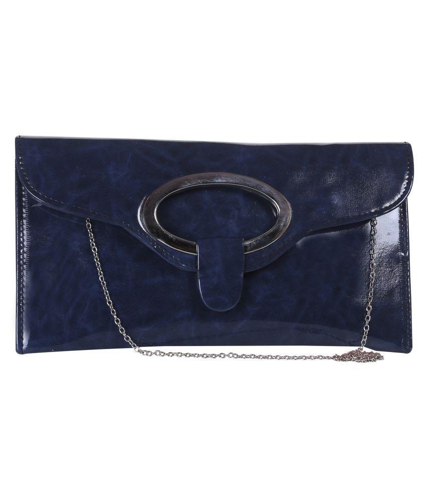 Freya Blue P.U. Sling Bag