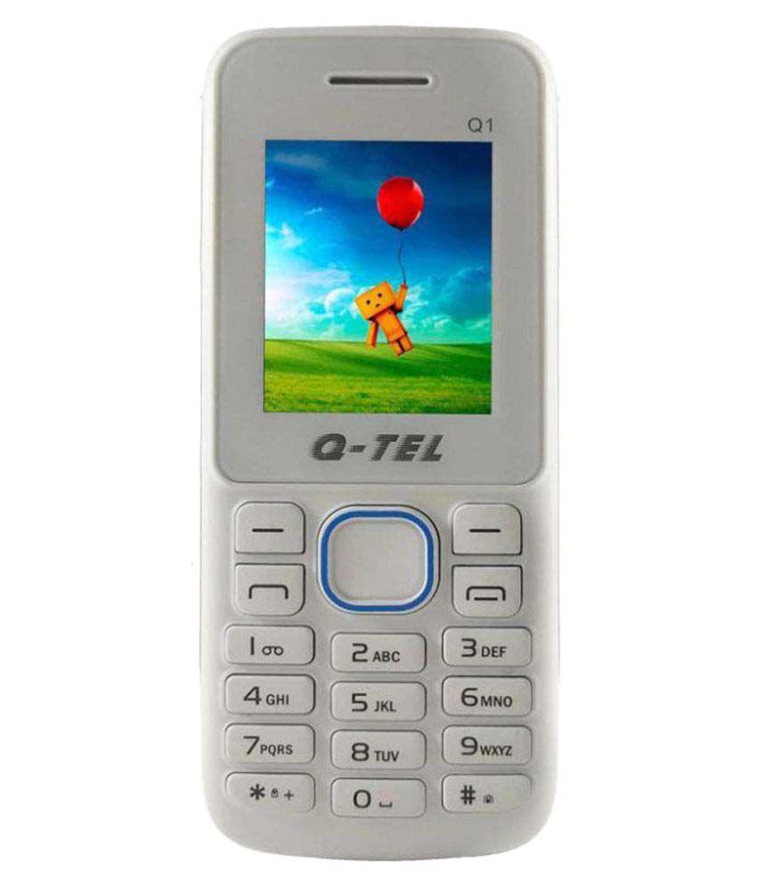 Qtel Q1 128 MB White Blue