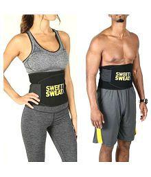 OSR Traders Sweat Belt Combo For Men & Women Free Size (Pack Of 2) Adjustable Pack Of 2