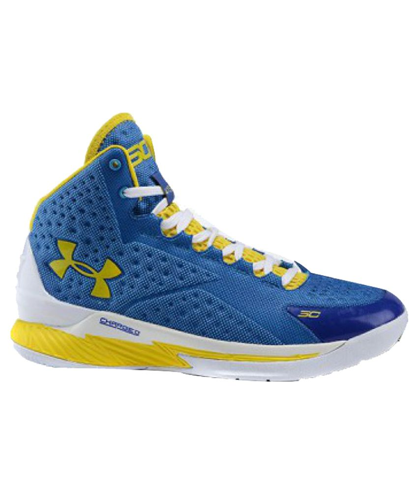 Under Armour Blue Basketball Shoes: Buy