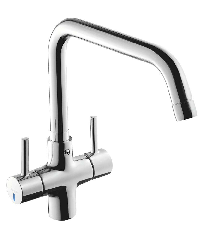 Buy Kohler Cuff Dual Handle Deck mounted Premium Kitchen Faucet with ...