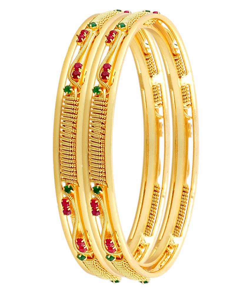 Mollick & Sons Golden Pair of Bangles