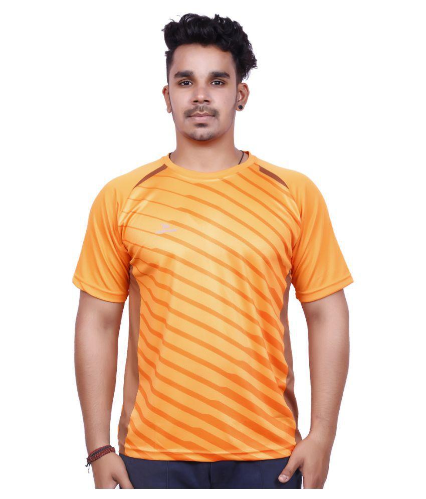 Mayor Orange Polyester T Shirt
