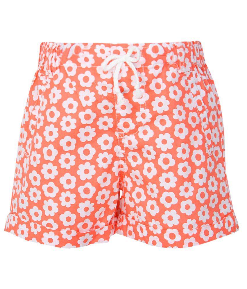 Pumpkin Patch Orange G-Shorts