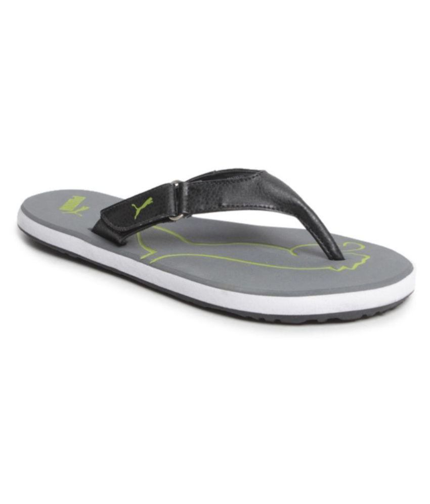 21f2e3d18d2 Puma Black Thong Flip Flop Price in India- Buy Puma Black Thong Flip Flop  Online at Snapdeal