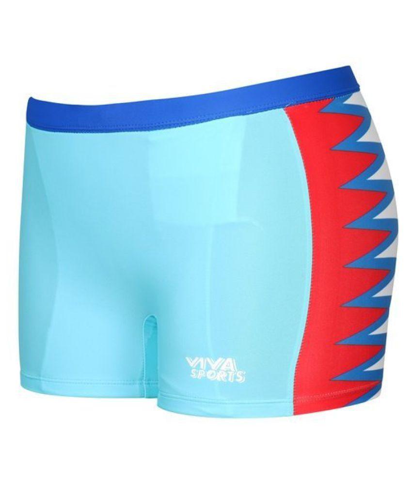Viva Sports VSTK-003-A Kid's Swimming Trunks (Multicolor)/ Swimming Costume