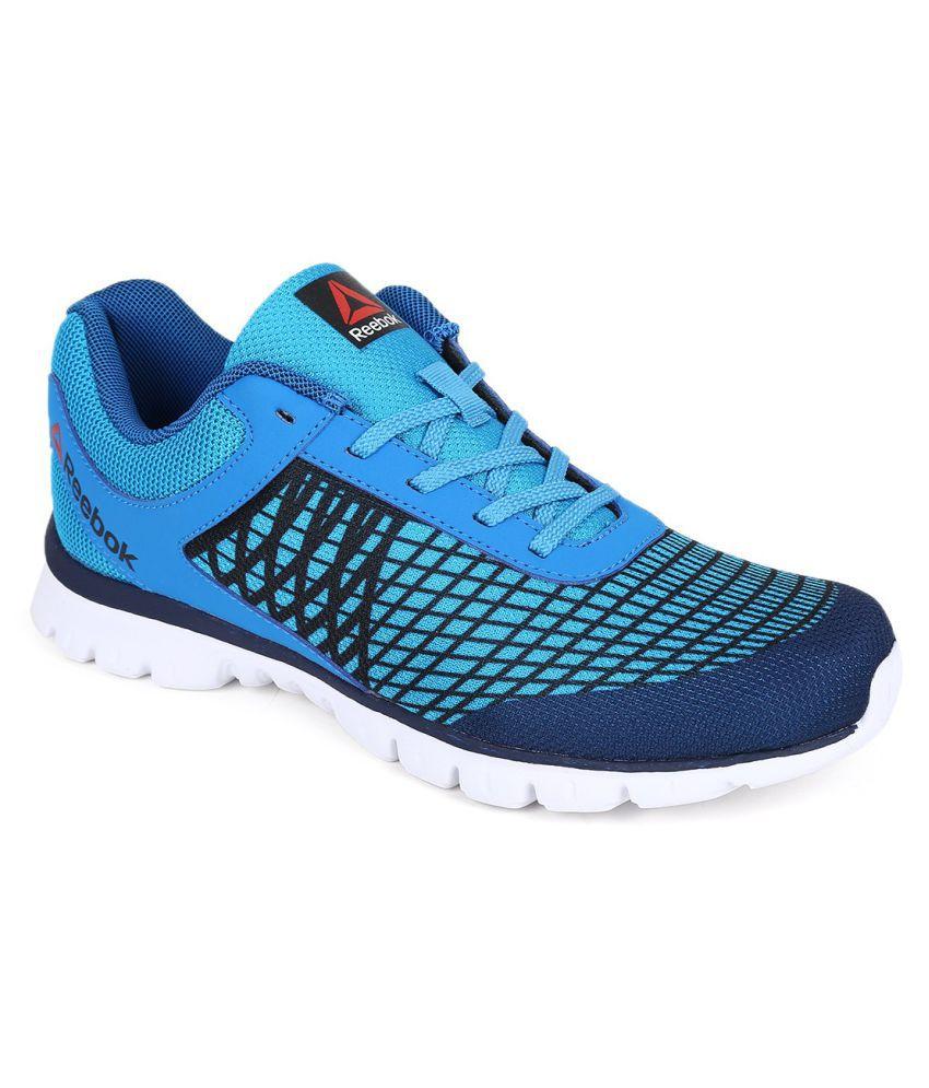 reebok run escape blue running shoes buy reebok run