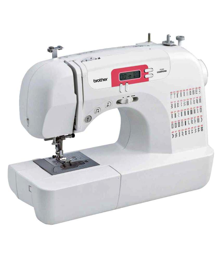 Brother FS 50 Computerized Sewing Machine Price In India - Buy Brother FS 50 Computerized Sewing ...