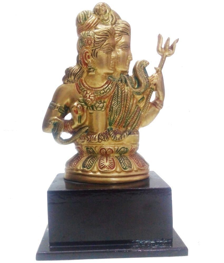 Sannvika Shivaji Brass Idol
