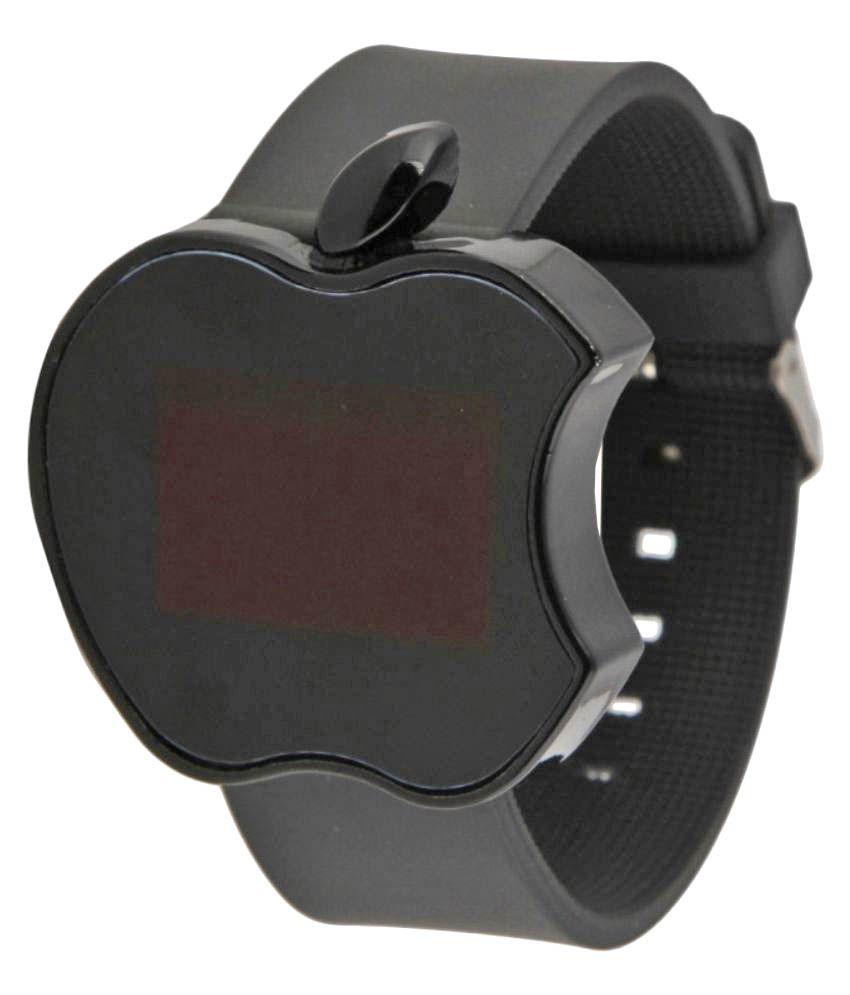 Roland Apple Shape Black LED Watch