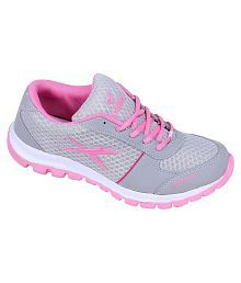 Orbit Grey Running Shoes