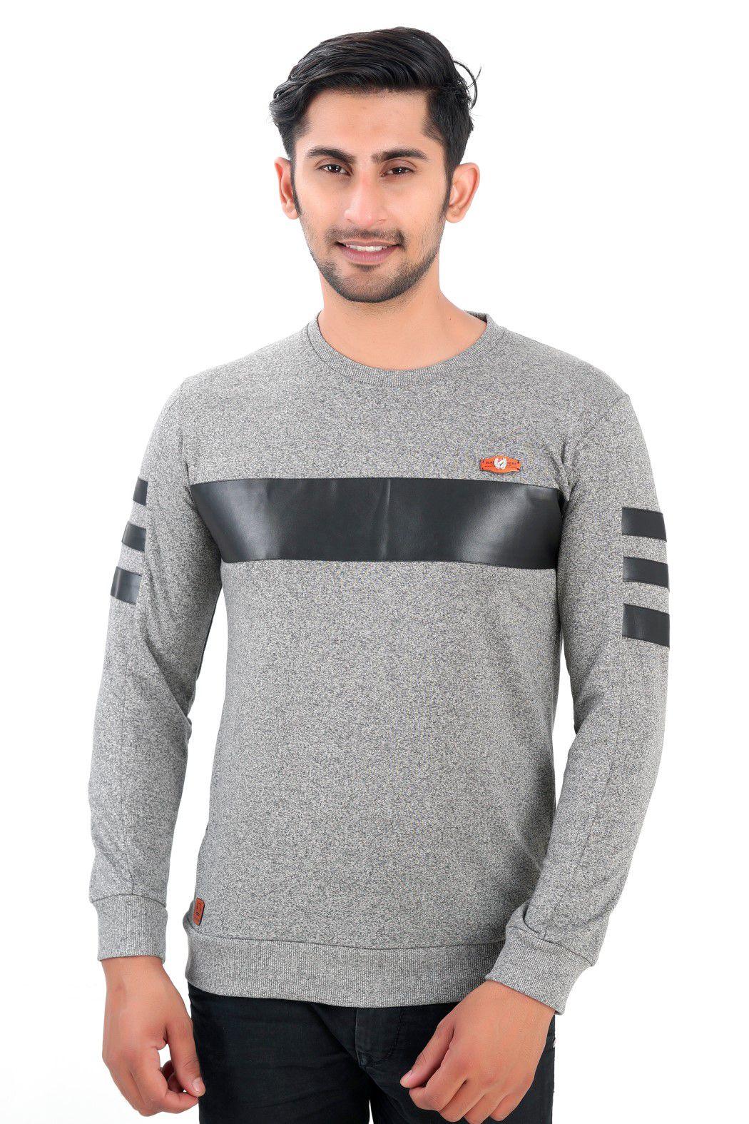 Wierit Grey Round T-Shirt