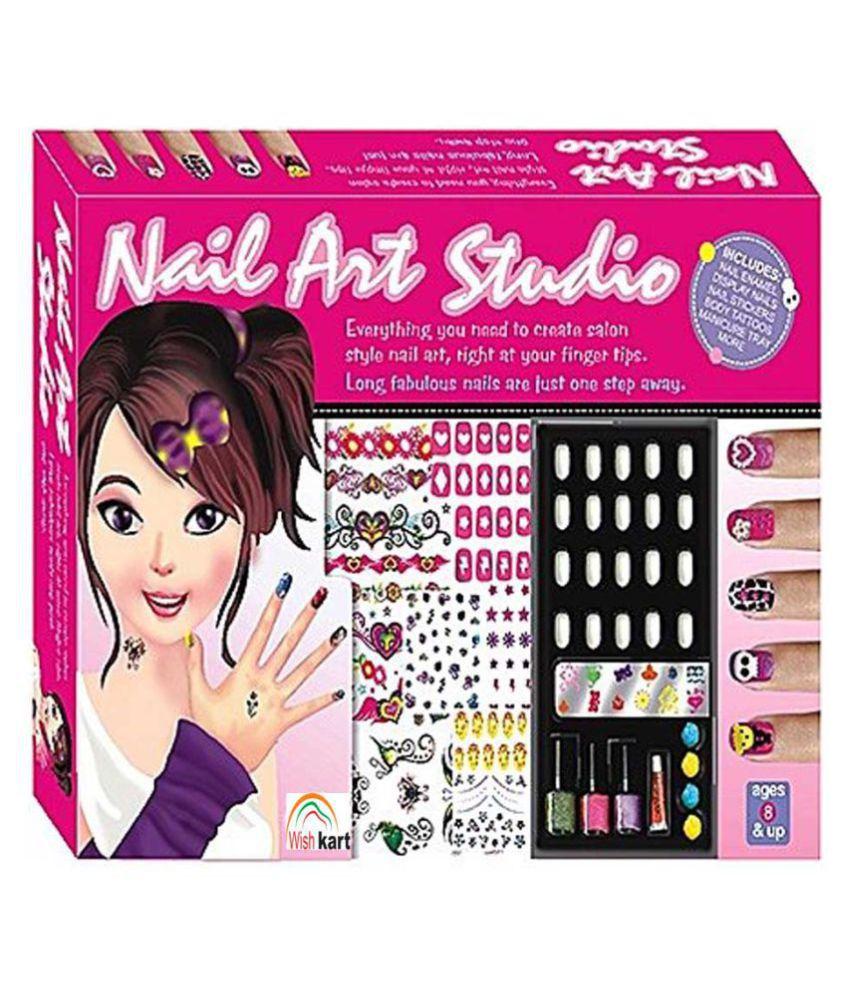 Wish Kart Nail Art Studio Salon Kit for Girls - Buy Wish Kart Nail ...