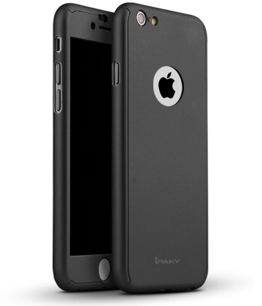 Apple iPhone 7 Plus Plain Cases KTC - Black