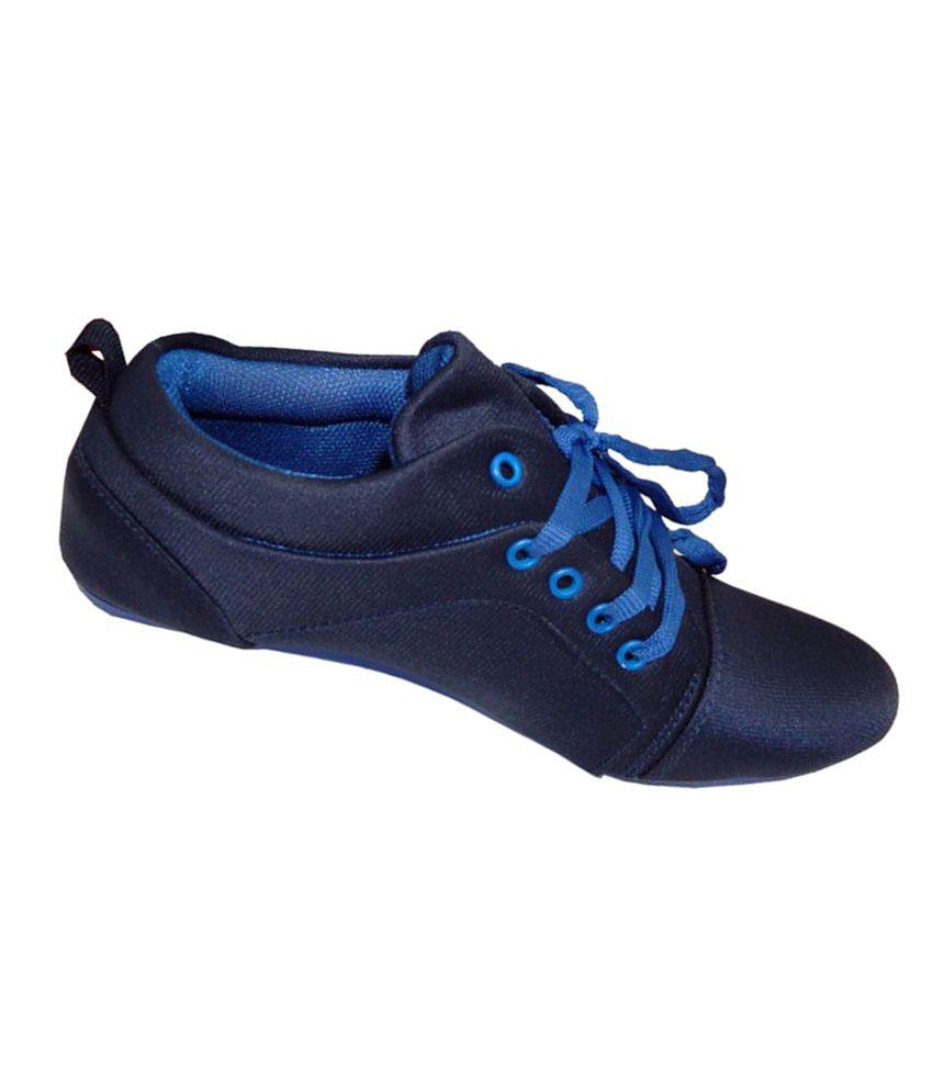 Alexus Blue Casual Shoes