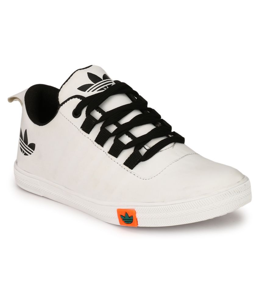 White Canvas Shoes Mens Online