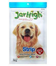 Jerhigh Real Chicken Strip 70 G (Pack Of 3)