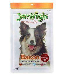 Jerhigh Bacon Dog Treats 70 G (Pack Of 3)