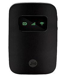 JioFi 4G Hotspot JMR541 150 Mbps Jio 4G Portable WiFi Data Device (Black)