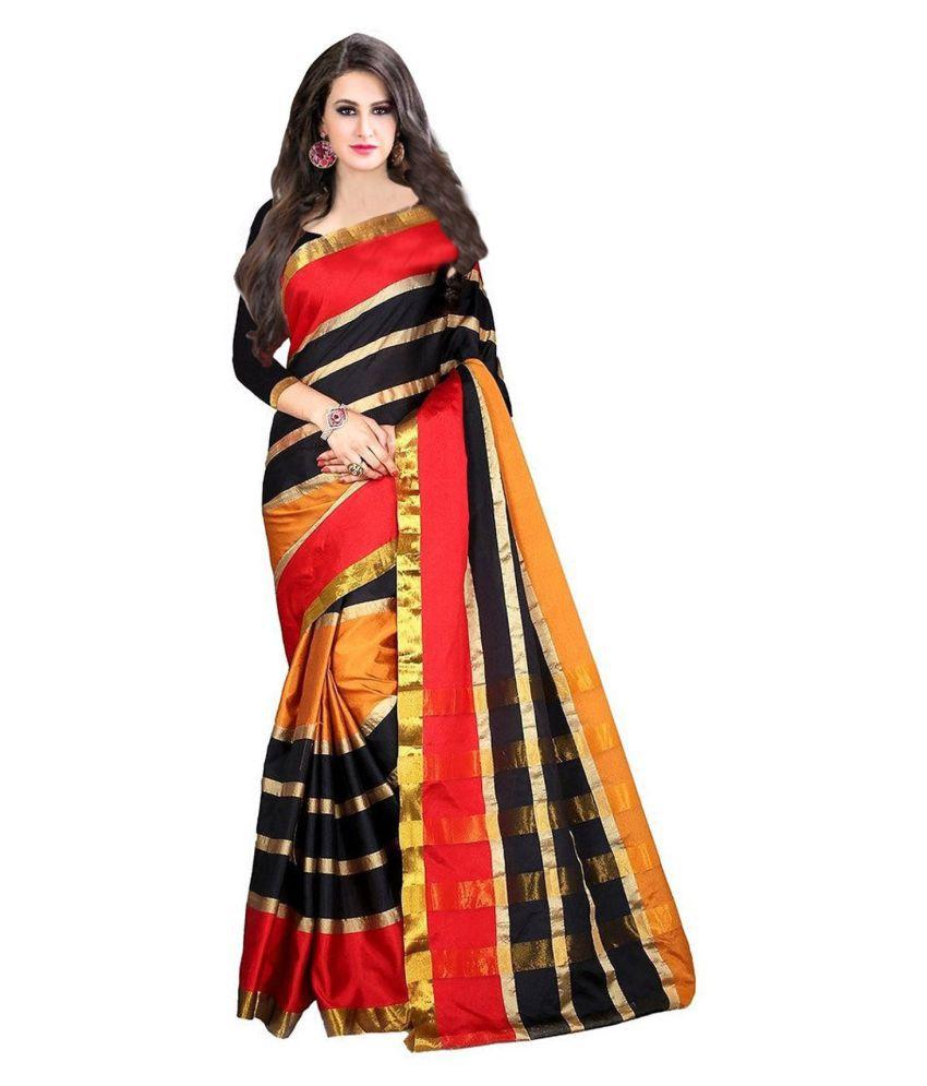 Pari Designer Multicoloured Cotton Silk Saree