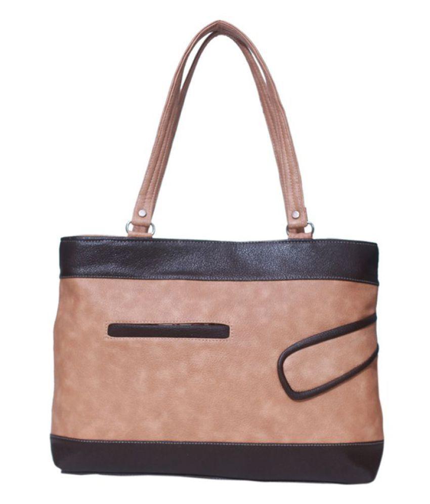 D-rock PeachPuff P.U. Shoulder Bag