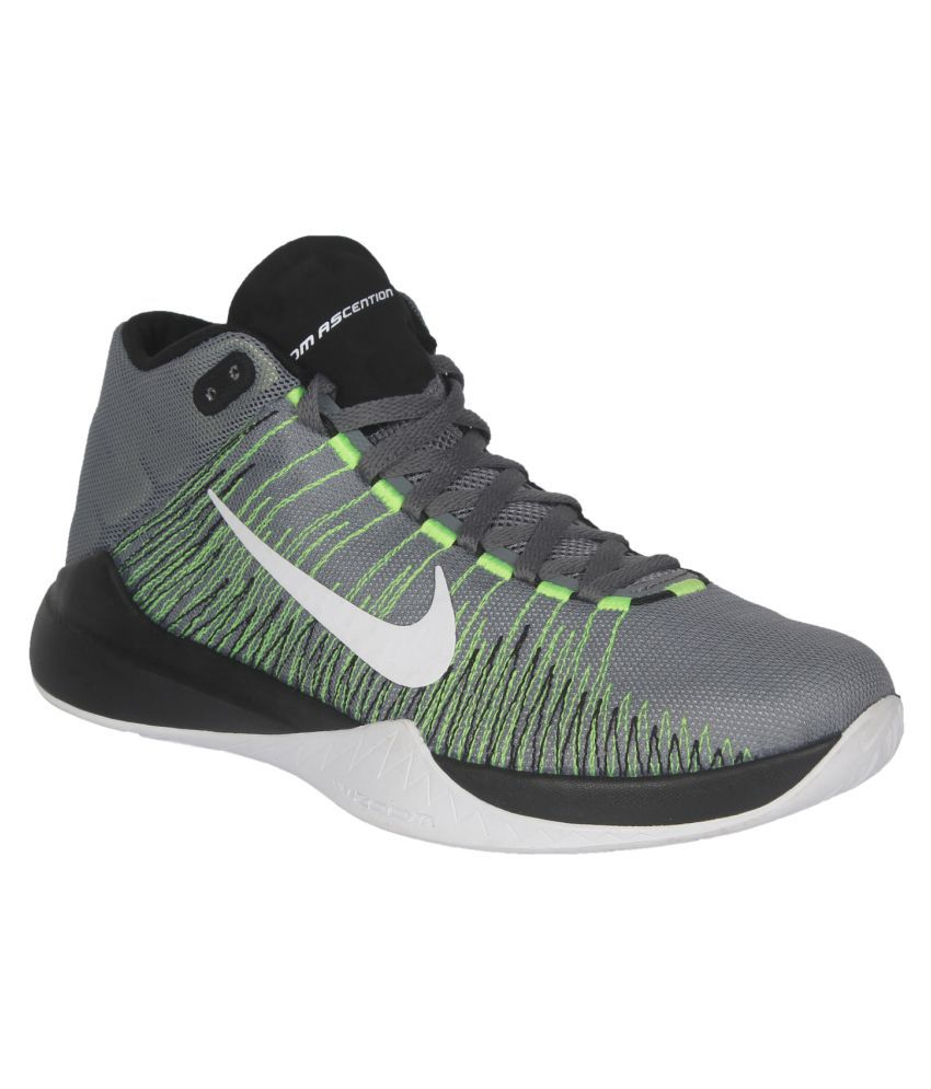 279f0d5555f ... low price nike zoom ascention gray basketball shoes d7407 8c4db
