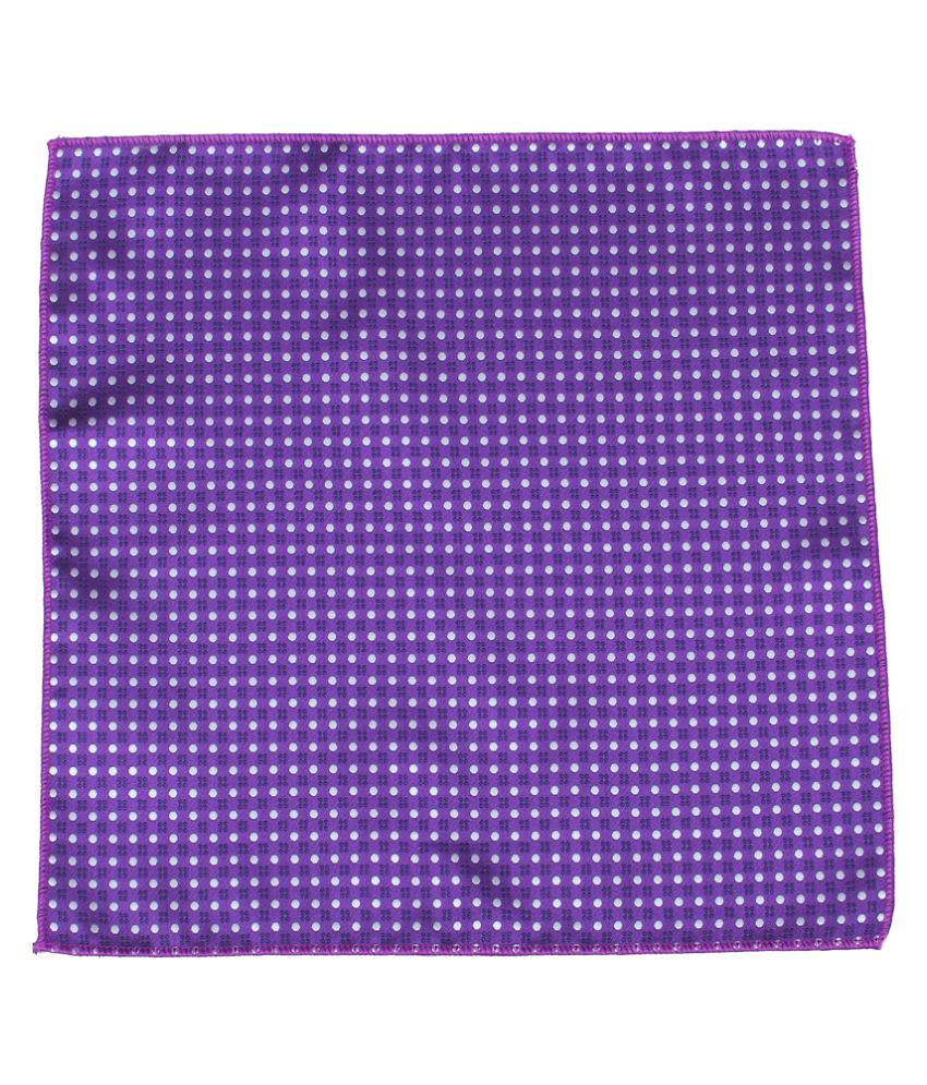 Tossido Purple Terry Pocket Square