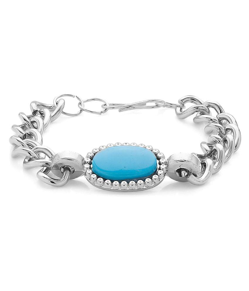 Branded Silver Bracelet for Men